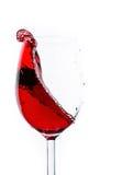 Παφλασμός κρασιού Στοκ Φωτογραφία