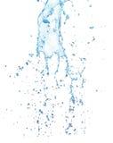 Παφλασμός νερού που απομονώνεται στο άσπρο υπόβαθρο Στοκ φωτογραφίες με δικαίωμα ελεύθερης χρήσης