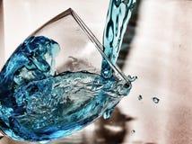 Παφλασμός νερού Στοκ εικόνες με δικαίωμα ελεύθερης χρήσης