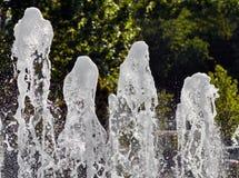 Παφλασμός νερού στοκ φωτογραφία