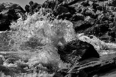 Παφλασμός παραλιών Στοκ φωτογραφία με δικαίωμα ελεύθερης χρήσης