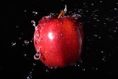 Παφλασμός της Apple Στοκ φωτογραφίες με δικαίωμα ελεύθερης χρήσης