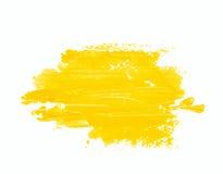 Παφλασμός των κτυπημάτων χρωμάτων που απομονώνονται Στοκ φωτογραφίες με δικαίωμα ελεύθερης χρήσης