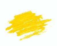 Παφλασμός των κτυπημάτων χρωμάτων που απομονώνονται Στοκ Φωτογραφία