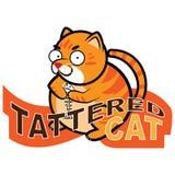 Παχιά τιγρέ γάτα διανυσματική απεικόνιση