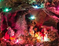 Παχνί Χριστουγέννων Στοκ Φωτογραφίες