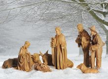 παχνί Χριστουγέννων Στοκ Εικόνες