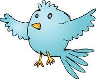 παχύς κύκλος πουλιών Στοκ εικόνα με δικαίωμα ελεύθερης χρήσης