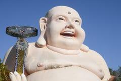 Παχύ άγαλμα μοναχών Στοκ Εικόνες