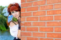 παύση που εμφανίζει γυναί&k Στοκ φωτογραφία με δικαίωμα ελεύθερης χρήσης