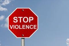 παύση της βίας Στοκ φωτογραφία με δικαίωμα ελεύθερης χρήσης