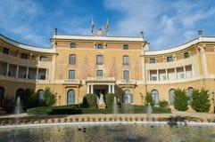 Παλάου Reial de Pedralbes Βαρκελώνη Στοκ φωτογραφίες με δικαίωμα ελεύθερης χρήσης