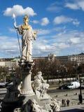 Παλλάς Αθηνά που αγνοεί τη Βιέννη Στοκ εικόνες με δικαίωμα ελεύθερης χρήσης