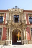 Παλάτι Αρχιεπισκόπου, Σεβίλη, Ανδαλουσία, Ισπανία Στοκ φωτογραφία με δικαίωμα ελεύθερης χρήσης