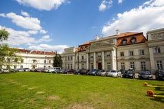 Παλάτι αρχιεπισκόπου στη Βαρσοβία Στοκ εικόνες με δικαίωμα ελεύθερης χρήσης