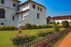 Παλάτι Αρχιεπισκόπου ` s σε παλαιό Goa, Ινδία Στοκ εικόνες με δικαίωμα ελεύθερης χρήσης