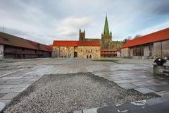 Παλάτι Αρχιεπισκόπου ` s σε Tronheim Στοκ Εικόνες