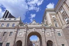 παλάτι βασιλική Στοκχόλμ&e Στοκ φωτογραφίες με δικαίωμα ελεύθερης χρήσης