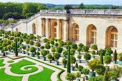 Παλάτι Βερσαλλίες, βασιλικός θερμοκήπιο πορτοκαλιών Στοκ Φωτογραφία