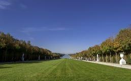 παλάτι Βερσαλλίες κήπων Στοκ φωτογραφίες με δικαίωμα ελεύθερης χρήσης