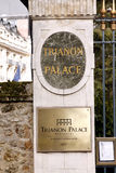 Παλάτι Βερσαλλίες Astoria Trianon WWaldorf Στοκ Εικόνες