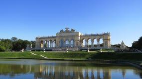 Παλάτι Βιέννη Shoenbrunn Στοκ Εικόνες
