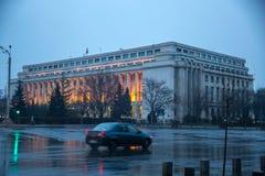 Παλάτι Βικτώριας - ρουμανική κυβέρνηση στοκ εικόνες με δικαίωμα ελεύθερης χρήσης