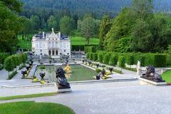 παλάτι 03 Γερμανίας linderhof Στοκ Εικόνες