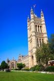 Παλάτι Γουέστμινστερ, Big Ben στο Λονδίνο, Ηνωμένο Βασίλειο Στοκ Φωτογραφίες