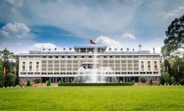 Παλάτι επανένωσης, πόλη Χο Τσι Μινχ, Βιετνάμ Στοκ Εικόνες