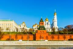 Παλάτι και καθεδρικοί ναοί της Μόσχας Κρεμλίνο Στοκ Εικόνες