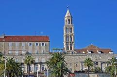 Παλάτι και καθεδρικός ναός Diocletian Στοκ εικόνα με δικαίωμα ελεύθερης χρήσης