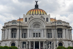 Παλάτι Καλών Τεχνών/Palacio de Bellas Artes - Πόλη του Μεξικού, Μεξικό Στοκ Εικόνα