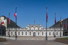 Παλάτι Λα Moneda - Σαντιάγο, Χιλή στοκ φωτογραφία με δικαίωμα ελεύθερης χρήσης
