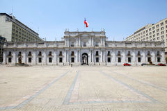 Παλάτι Λα Moneda, Σαντιάγο de Χιλή, Χιλή Στοκ Εικόνες