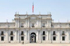 Παλάτι Λα Moneda, Σαντιάγο de Χιλή, Χιλή Στοκ Εικόνα