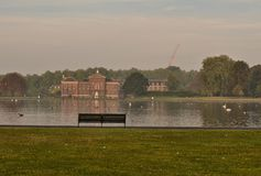Παλάτι Λονδίνο κήπων Kensington Στοκ Φωτογραφίες