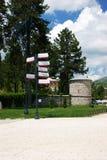 Παλάτι μπιλιάρδου σε Cetinje Στοκ εικόνα με δικαίωμα ελεύθερης χρήσης