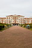 Παλάτι ξενοδοχείων Στοκ φωτογραφία με δικαίωμα ελεύθερης χρήσης