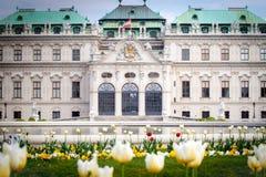 Παλάτι πανοραμικών πυργίσκων, Βιέννη, Αυστρία Στοκ εικόνα με δικαίωμα ελεύθερης χρήσης