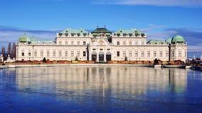 Παλάτι πανοραμικών πυργίσκων, Βιέννη, Αυστρία Στοκ εικόνες με δικαίωμα ελεύθερης χρήσης