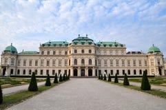 Παλάτι πανοραμικών πυργίσκων στη Βιέννη, Αυστρία Στοκ Εικόνα