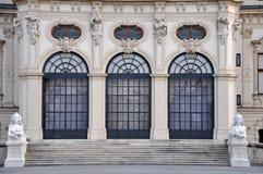 Παλάτι πανοραμικών πυργίσκων στη Βιέννη, Αυστρία Στοκ εικόνες με δικαίωμα ελεύθερης χρήσης