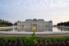 Παλάτι πανοραμικών πυργίσκων στη Βιέννη, Αυστρία Στοκ Εικόνες
