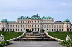 Παλάτι πανοραμικών πυργίσκων στη Βιέννη, Αυστρία Στοκ εικόνα με δικαίωμα ελεύθερης χρήσης