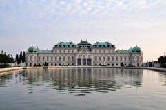 Παλάτι πανοραμικών πυργίσκων στη Βιέννη, Αυστρία Στοκ Φωτογραφία