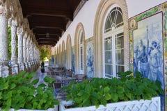παλάτι Πορτογαλία bussaco Στοκ Εικόνα