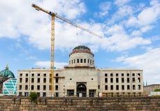 Παλάτι πόλεων του Βερολίνου εργοτάξιων οικοδομής στοκ φωτογραφίες με δικαίωμα ελεύθερης χρήσης