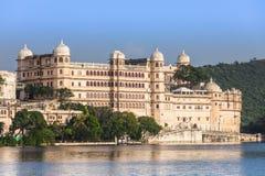 Παλάτι πόλεων Udaipur στοκ εικόνα