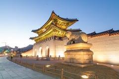Παλάτι Σεούλ Κορέα Geongbokgung Στοκ Εικόνες